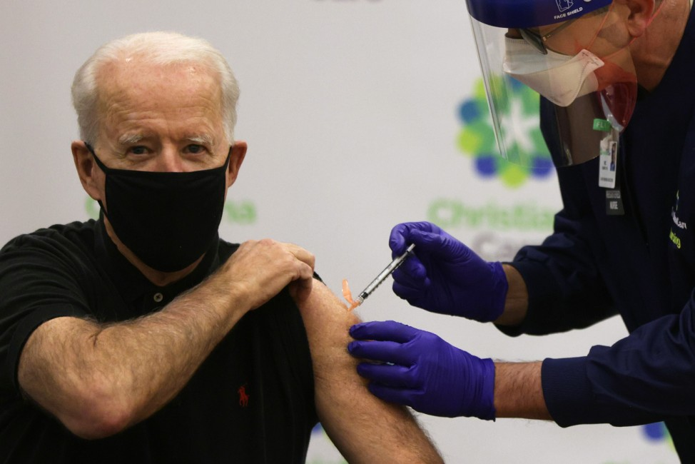 President-Elect Biden And Vice President-Elect Harris Receive Second Round Of COVID-19 Vaccination