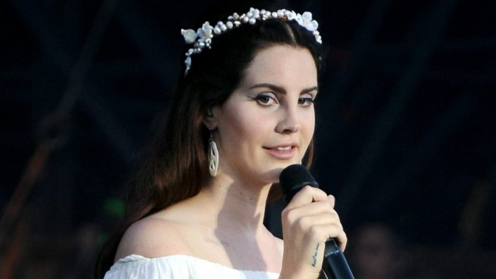 Sängerin Lana Del Rey