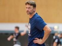 Robert Hedin Trainer Team USA Bergischer HC vs Team USA Handball HBL Testspiel 07 08 18 Solin; Robert Hedin, US-Handball