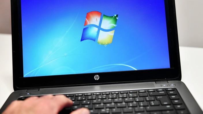 Operating System Windows 7 (seven) in a notebook. (CTKxPhoto/PetrxSvancara) CTKPhotoF201912210561101