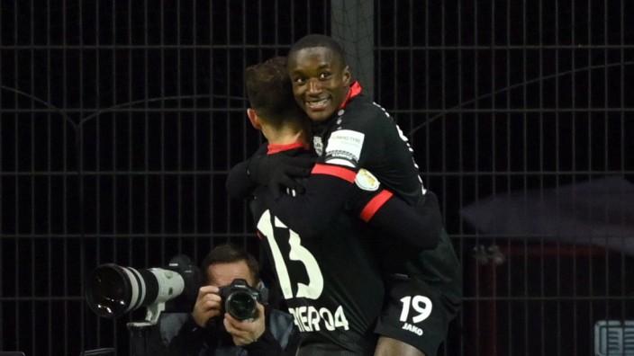 DFB Cup - Second Round - Bayer Leverkusen v Eintracht Frankfurt
