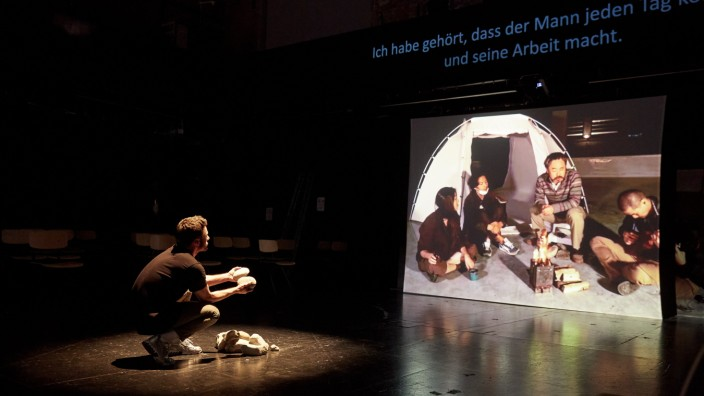 BORDERLINE  Dokufiktion von Jürgen Berger  Residenztheater - Marstall