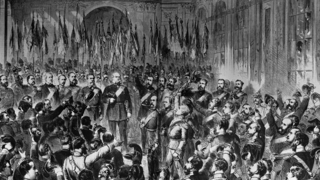 Proclamation of the emperor in Versailles, 1871