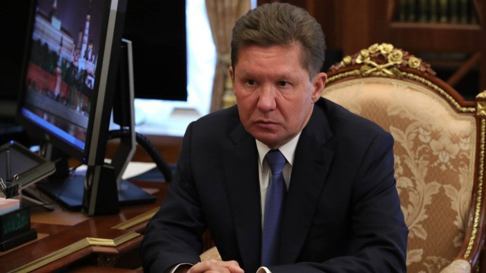 September 16, 2020. - Russia, Moscow. - Gazprom Chairman of the Management Committee/Deputy Chairman of the Board of Dir