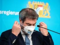 'Homeoffice-Gipfel' der bayerischen Staatsregierung