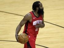 NBA: James Harden im Trikot der Housten Rockets