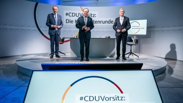 Kandidaten für den CDU-Parteivorsitz