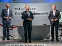 Merz, Laschet, Röttgen, CDU-Parteitag