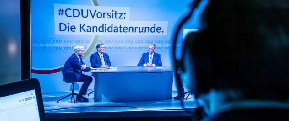 Die Kandidaten für den CDU-Parteivorsitz 2021 in Berlin