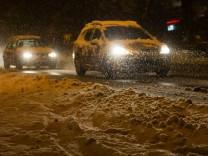 Wetter: Schneechaos im Südwesten