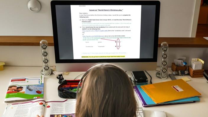 Coronavirus - Schulunterricht zu Hause
