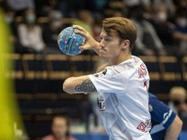 Emil Jakobsen 7, DEN during Handball EHF EURO 2022 Qualification Finland - Denmark match between Finland and Denmark at; Emil Jakobsen
