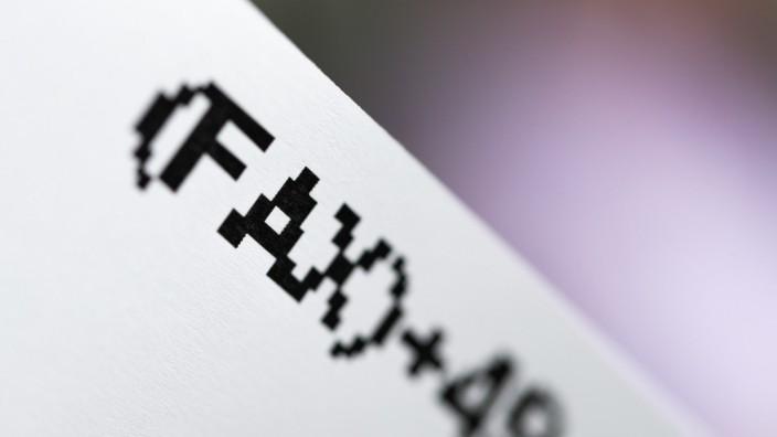 Auch für Internet-Ausfall: Regierung benutzt noch 94 Fax-Geräte