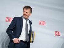 Vorstandsvorsitzender Dr Richard LUTZ Deutsche Bahn AG Bilanz Pressekonferenz in Berlin Deutschlan