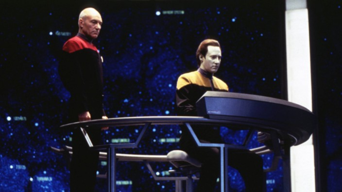 Star Trek Treffen der Generationen STAR TREK GENERATIONS USA 1994 Regie David Carson PATRI