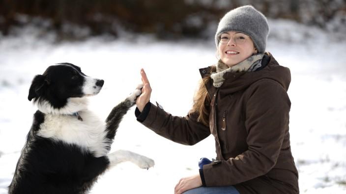 Hundetrainerin Rebecca Janik