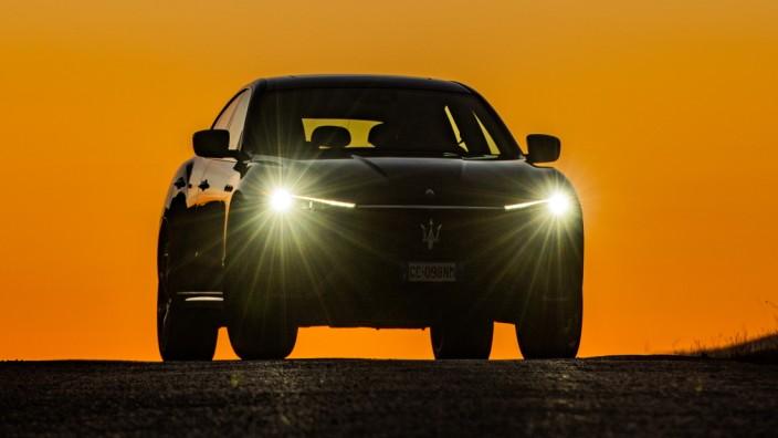 New Maserati Levante In Gran Sasso D'Italia