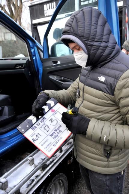 Weßling: ARD Filmdreh 'Nie zu spät'