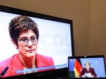 (210115) -- BERLIN, Jan. 15, 2021 -- Photo taken in Berlin, Germany, on Jan. 15, 2021 shows the current leader of German
