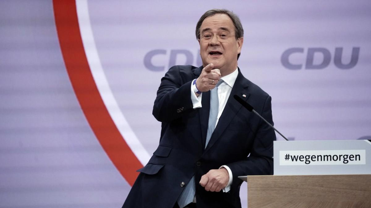 CDU-Parteitag: Laschet zum neuen CDU-Vorsitzenden gewäh