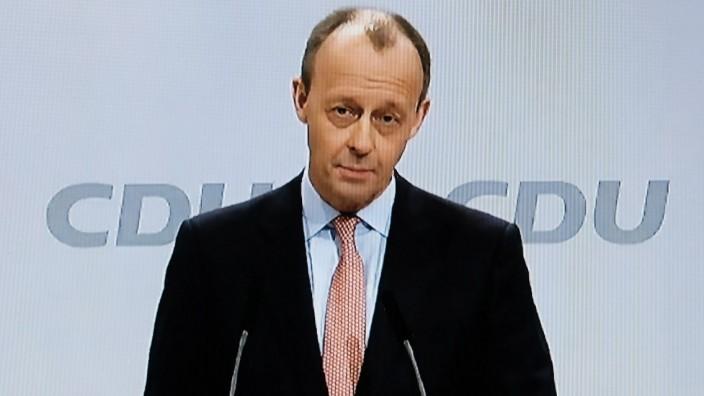 16.01.2021 xkhx , 33. Parteitag der CDU Deutschland digital / Virtuell Livestream Bewerbungsgespräch um den Parteivorsi
