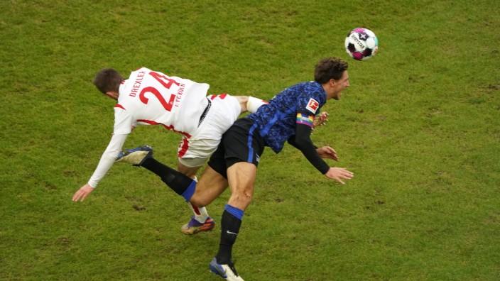 16.01.2021, Fussball GER, Saison 2020/ 2021, 1. Bundesliga, 16. Spieltag, 1. FC Köln - Hertha BSC , Rheinenergiestadion
