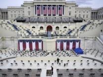 Vor Amtseinführung des designierten US-Präsidenten Biden