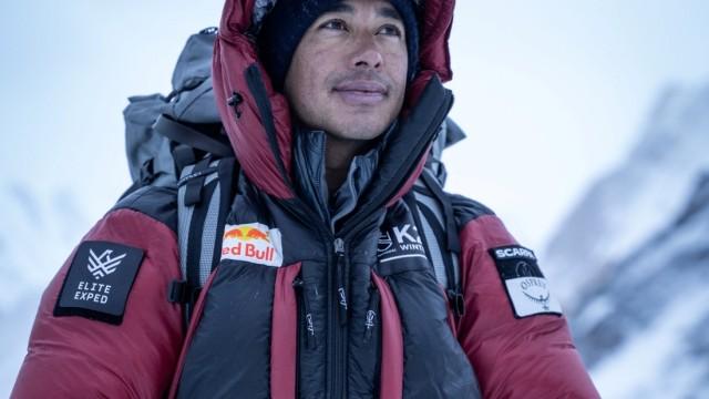 Nirmal 'Nims' Purja is seen before his winter attack on K2