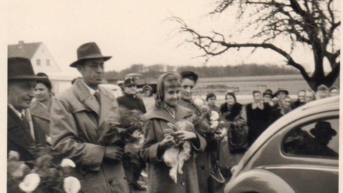 Karl Schäfer, Rückkehr aus russischer Kriegsgefangenschaft 1956