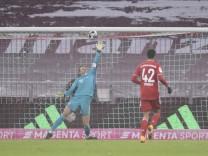 17.01.2021, Fussball 1. Bundesliga: FC Bayern - SC Freiburg 17.01.2021, Fussball 1. Bundesliga 2020/2021, 16. Spieltag,; Neuer