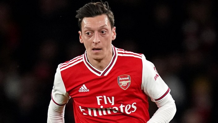 Mesut Ozil File photo dated 23-02-2020 of Arsenal s Mesut Ozil. FILE PHOTO EDITORIAL USE ONLY No use with unauthorised a; Özil