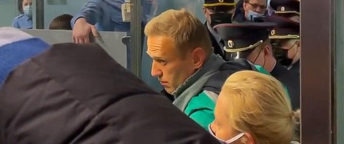 Kremlgegner Nawalny in Russland