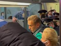 Nawalny-Heimkehr: Die russischen Behörden machen ernst