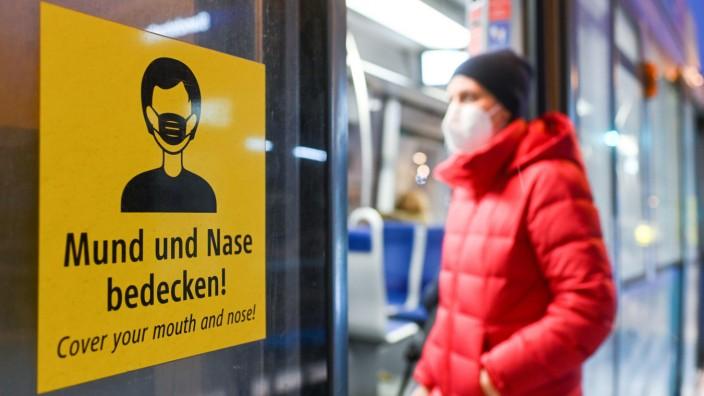 Coronavirus - Bayern - FFP2-Maskenpflicht