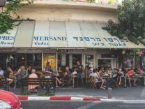 Café Mersand in Tel Aviv: Auf Wiedersehen