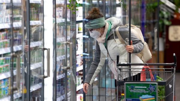 Coronavirus - Supermarkt - FFP2-Masken