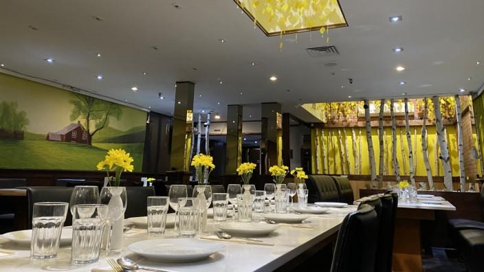 """chinesisches Restaurants """"Aunt Dai"""" in Montréal, Kanada"""