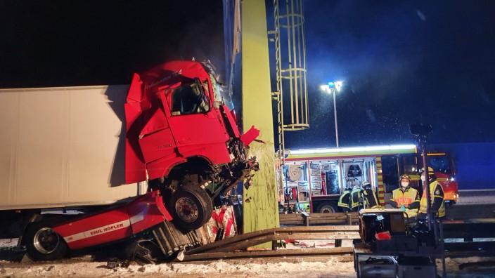 Unfall Geiselbullach