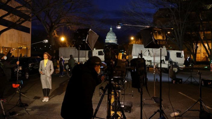 U.S. Capitol ahead of President-elect Joe Biden's Inauguration