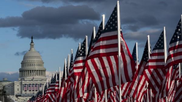 Washington vor der Amtseinführung des designierten US-Präsidenten Joe Biden
