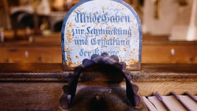 Opferstock Kalvarienbergkirche