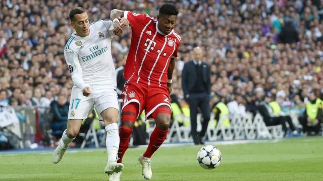 xuhx, Madrid, Estadio Santiago Bernabeu, 01.05.18, Champions League: Real Madrid CF - FC Bayern Muenchen Bild: v. li. i