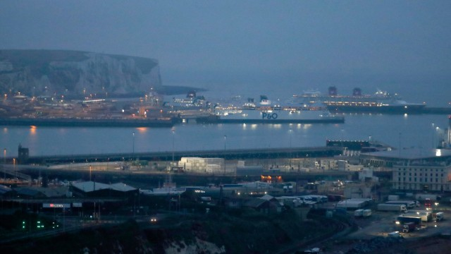 Brexit - Fährverkehr Dover