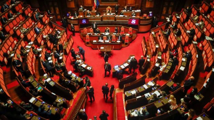 Italian PM Conte faces vote of confidence in upper Chamber