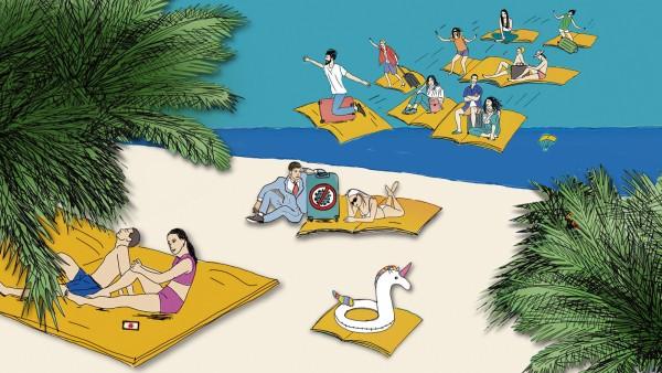 Nur mit Impfpass an den Strand? Debatte um Corona-Impfpflicht für Reisende