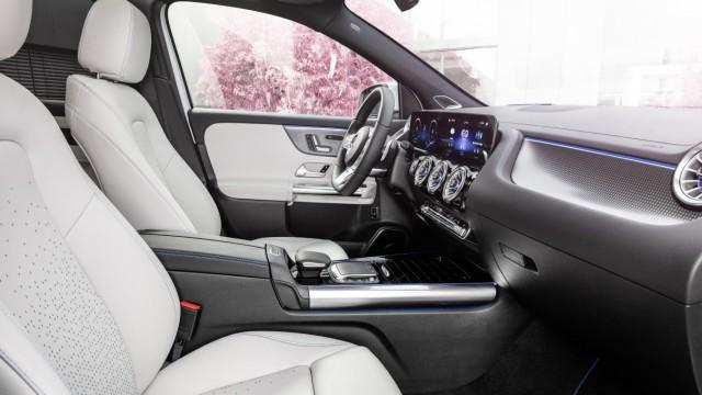 Bilder vom neuen vollelektrischen Mercedes EQA