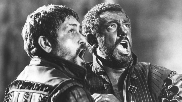 OTELLO, Justino Diaz, Placido Domingo, 1986, (c)Cannon Films/courtesy Everett Collection Cannon Films/Courtesy Everett C