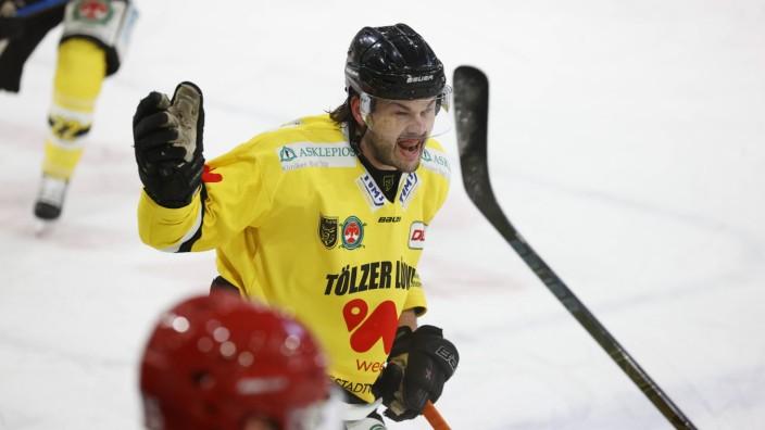 EV Landshut (rot) vs. Tölzer Löwen Landshut (Bayern/Deutschland) Eishockey Herren, DEL2, 20. Spieltag, Saison 2020/2021