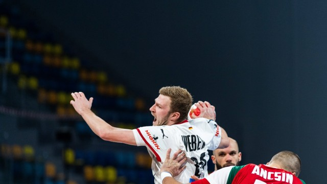 210119 Philipp Weber of Germany during the 2021 IHF World Handball Championship match between Germany and Hungary on Ja