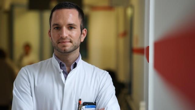 Christoph Spinner vom HIV Zentrum Izar in München, 2017